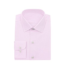 Pink Twill Dress Shirt XS,Default Style(as seen on the photo),Standard style