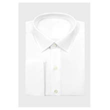 White Diamond Weave Dress Shirt XS,Default Style(as seen on the photo),Standard style