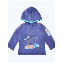 Baby Boys' Active / Basic Solid Colored Long Sleeve Hoodie & Sweatshirt Blue Blue,9-12 Months(80cm)