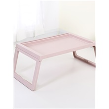 OutdoorFolding Tables Modern Style Plastics Grey Blushing Pink