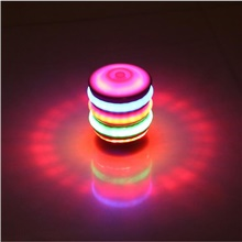 Spinning Top Color-Changing Easy to Carry Sports Plastic Sparkle Elementary Intermediate All Toy Gift Rainbow