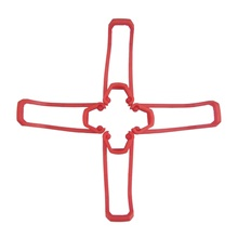E58 S168 JY019 4pcs Propeller Guards RC Quadcopters RC Quadcopters ABS+PC Easy to Install / Durable Cherry Red