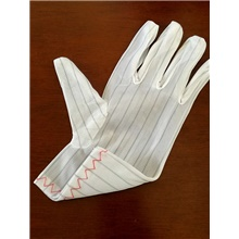 Anti-static Men's Basic Fingertips Gloves - Striped White,M