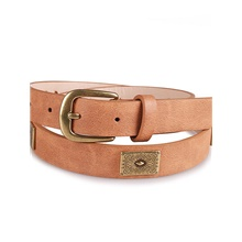 Men's Basic Waist Belt - Solid Colored Brown