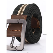 Men's Basic Leather Waist Belt - Solid Colored