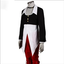 Inspired by The King Of Fighters Iori Yagami Video Game Cosplay Costumes Cosplay Suits Patchwork Coat Pants Belt Costumes Black,S
