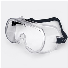 EF002A Goggles Windproof Dustproof Labor Protection Anti-Impact Splash Riding Men And Women Transparent And Comfortable Protective Glasses Transparent White ,XXL
