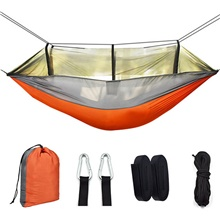 2020 New Encryption Mosquito Net Hammock Outdoor Camping With Mosquito Net Hammock Anti-mosquito Camping Mesh Hammock Manufacturer