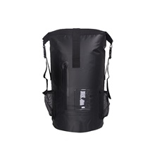 30 L Waterproof Dry Bag Waterproof Backpack Floating Roll Top Sack Keeps Gear Dry for Swimming Water Sports Black,30L