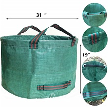 Garden Garbage Bag Vegetable And Fruit Planting Bag Garden Leaf Bag 63gallons 1#