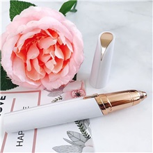 Battery Electric Eyebrow Trimming Pen Hair Remover Razor Multifunctional Hair Remover Painless Eyebrow Shaver White
