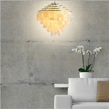 6-Light 60 cm Single Design Chandelier Shell Shell Modern 110-120V 220-240V 110-120V