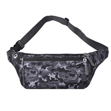 Unisex Bags Oxford Cloth Fanny Pack Pattern / Print Zipper for Daily Outdoor Black Purple Blushing Pink Green Black