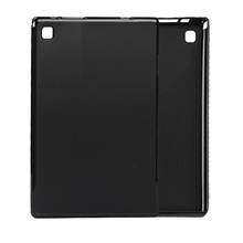 Solid Color Ultra-thin Shockproof TPU Tablet Case for Teclast P20HD 10.1 inch Teclast P20HD,Black