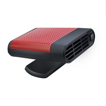 Electronic Car Heater Portable Auto Heater Fan Fast Heating Defrost 12V/24V 150W Car Heater Plug Into Cigarette Lighter 2 in 1 Heating/Cooling Function 3-Outlet 360 Degree Rotary 12V,Red