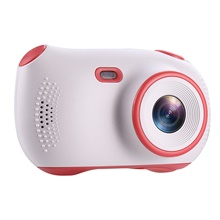 Children's Camera Waterproof 1080P HD Screen Camera Video Toy 18 Million Pixel Kids Cartoon Cute Camera Outdoor Photography kids White
