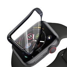 2Pcs Full Curved Soft PMMA Screen For IWatch Series 38 40 42 44 Mm Soft Screen Protector For Full Cover Curved Edge Protective Film 38mm
