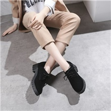 Women's Oxfords Wedge Heel Round Toe Casual Daily Solid Colored Nubuck Black Gray Black,US5 / EU35 / UK3 / CN34