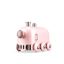 Small Train Humidifier Literature Wind Small-sized Ultrasonic Dense Fog Amount Humidifier Household USB,Pink