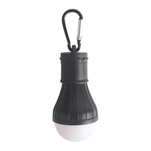 Outdoor Portable Camping Light LED Camping Light Emergency Light Christmas Decoration Small Hanging Light 1Pc Black