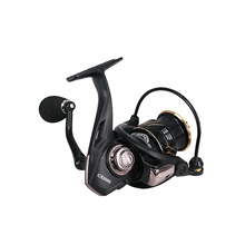 Fishing Reel Spinning Reel 5.0:1 Gear Ratio Ball Bearings Sea Fishing / Bait Casting / Freshwater Fishing / Trolling & Boat Fishing / Hand Orientation Exchangable Hand Orientation Exchangable,Black,2000