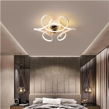 45/55 cm LED Ceiling Light Modern Nordic Circle Black White Gold Cluster Design Living Room Bedroom Metal Painted Finishes 220-240V Warm White White Cold White,220-240V,White,45cm