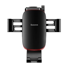 Baseus Gravity Car Phone Holder  Suction Cup Adjustable Universal Mount Holder for Phone in Car Cell Mobile Smartphone Support Black