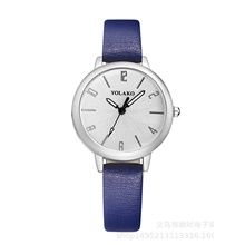 women watches,ladies fashion analog quartz wristwatches roman numerals geometric polygon dial genuine leather strap waterproof casual watches for woman Navy