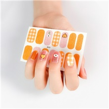 10 pcs New Christmas Nail Sticker Waterproof Nail Sticker Fake Nail Nail Sticker Snowman Snowflake Nail Sticker 21#,10 PCS