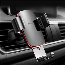 Baseus Air Outlet Phone Holder In Car Auto-locked Gravity Car Holder Universal Phone Holder Stand Mount For iPhone 11 Pro X Xs 7 #1