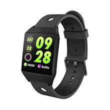 W1 1.3 Ips Color Screen Gps Smart Watch Waterproof Pedometer Heart Rate Monitor Blood Pressure Smart Bracelet Smartwatch band,Black