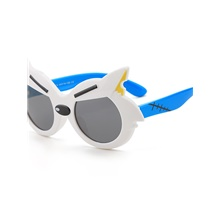 1pcs Kids / Toddler Unisex Active / Sweet Cartoon Glasses White / Black / Blue White
