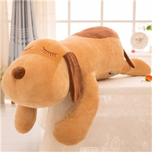 stuffed animal dog plush toy 17.5 inch hugging pillow kawaii plush soft pillow doll dog, plush toys gifts for girl boy babies birthday 120cm,coffee