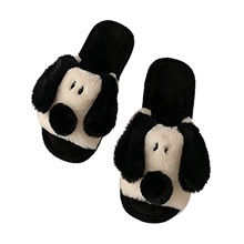 Women's Slippers / Girls' Slippers House Slippers Ordinary / Casual Spinning Cotton / Terry / Cotton solid color Shoes Black,CN(36-37) / US6 / EU36 / UK4