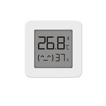 Xiaomi Mijia Bluetooth Thermometer 2 Wireless Smart Electric Digital Hygrometer Thermometer Work with Mijia APP White