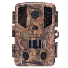 Hunting Trail Camera / Scouting Camera CMOS 1920*1080 Portable Night Vision 120° Detecting Range Hunting Surveillance cameras Brown