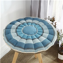 Japanese-style Coarse Linen Round CraftSeat Cushion Simple Home Office Chair Cushion Home Office Seat Bar Dining Chair Seat Pads Garden Floor Cushion Yes,1,Round,50*50 cm