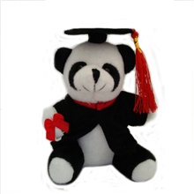 plush puppy stuffed animal small dog doll toys stuffed animals bulk assorted toys for birthday cake wedding decorations graduation party Doctor Panda