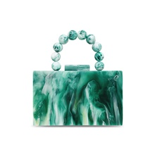 Women's Bags Acrylic Top Handle Bag Chain 2021 Party Date Green Green