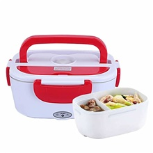 Electric Warming Lunch Box Heater Plug-in Heating Lunch Box 1.2L Home Appliance Insulation Box 110v 220v Home-use Warmer Portable Bento Box Lunch Heater Container Food Grade Material 220V,Stainless Steel ( US $5.95) ,Red