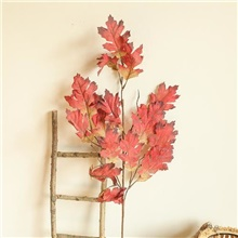 artificial leaves plants home decor home decorative artificial flowers leaves plants display Claret,Irregular,M
