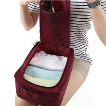Shoe Bag & Box Terylene 1pack Unisex Red Wine / Blue / Blushing Pink Red Wine