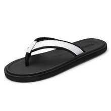 Men's Slippers & Flip-Flops Daily EVA(ethylene-vinyl acetate copolymer) Non-slipping Black and White Black / Red Orange / Black Summer Black and White,US7 / EU39 / UK6 / CN39