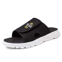 Men's Slippers & Flip-Flops Daily EVA(ethylene-vinyl acetate copolymer) Breathable Black and White Black Spring Summer Black and White,US7 / EU39 / UK6 / CN39