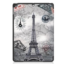 Case For Apple iPad 7 (2019) 10.2'' / iPad Pro (2018) 11'' / iPad Pro (2020) 11'' Shockproof / Origami Full Body Cases Eiffel Tower PU Leather iPad 7 (2019) 10.2'',#1