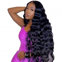 human hair lace front wig free part style malaysian hair body wave black wig 130% density classic women fashion women's short long medium length human hair lace wig clytie / very long Glueless Lace Front,Natural Color,130%,10 inch,Average