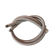 Faucet accessory - Superior Quality Water Supply Hose Contemporary Metal others Silver Gray