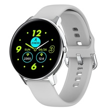 W68 Bluetooth5.0 Smart Watch 1.4 Inch HD Full Touch Screen Body Temperature Heart Rate Monitoring IP68 Waterproof Sports Smartbands White