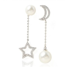 Women's Drop Earrings Mismatch Earrings Drop Precious Fashion Imitation Pearl Earrings Jewelry White For Christmas Halloween Street Gift Date 1 Pair White,1 pair