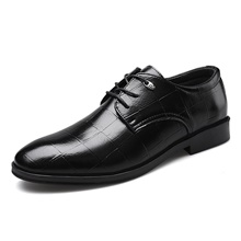 Men's Oxfords Business Daily PU Non-slipping Black Spring Black,US7 / EU39 / UK6 / CN39